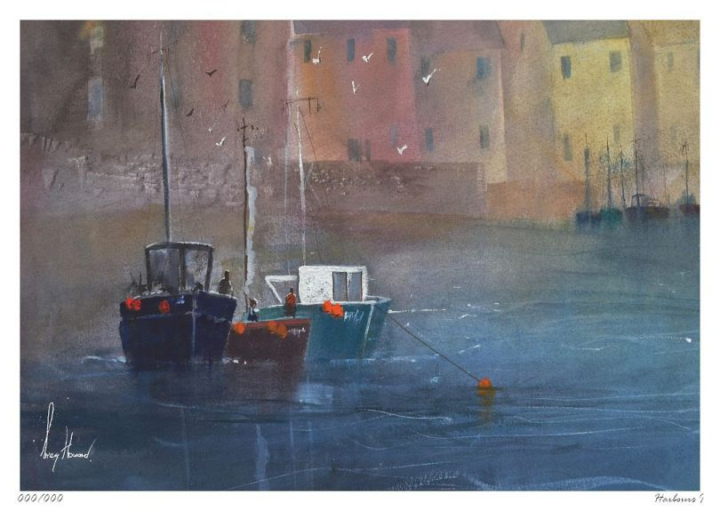 Limited Edition Print Harbours I