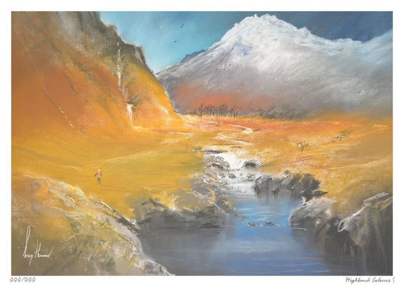 Limited Edition Print Highland Colours I
