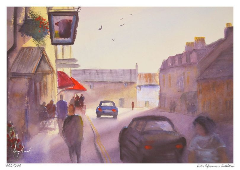 Limited Edition Print Late Afternoon Castleton