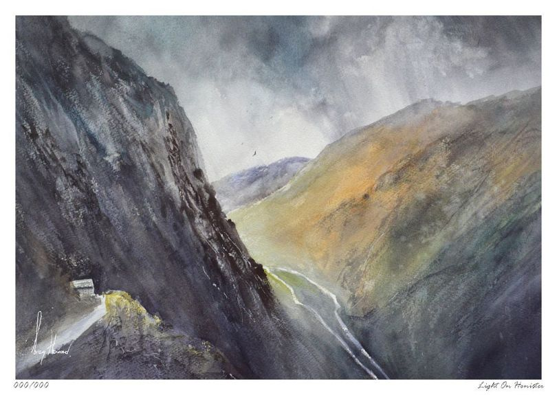 Limited Edition Print Light On Honister