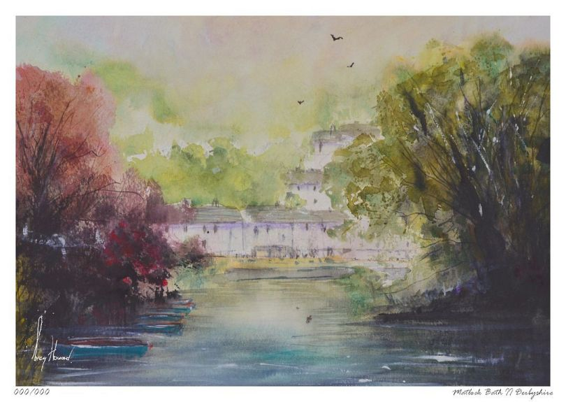 Limited Edition Print Matlock Bath II Derbyshire