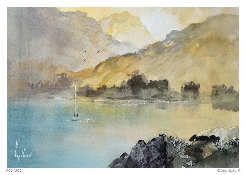 Limited Edition Print On The Lake II