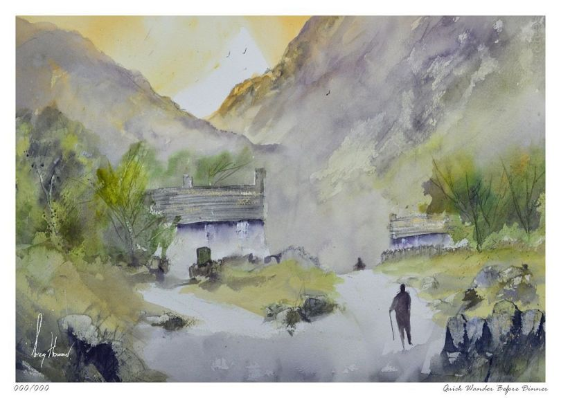 Limited Edition Print Quick Wander Before Dinner