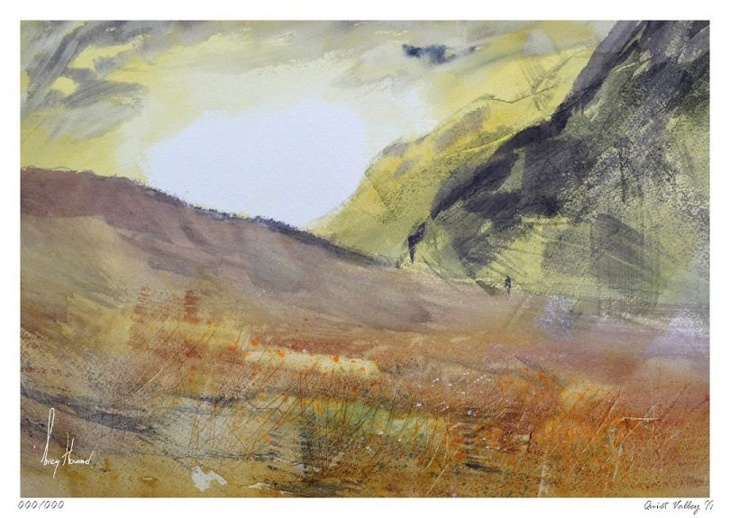 Limited Edition Print Quiet Valley II