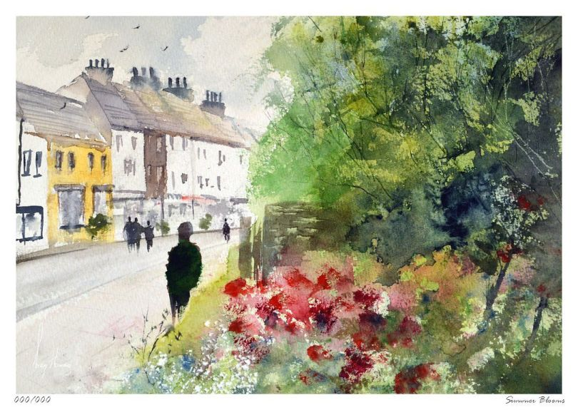 Limited Edition Print Summer Blooms
