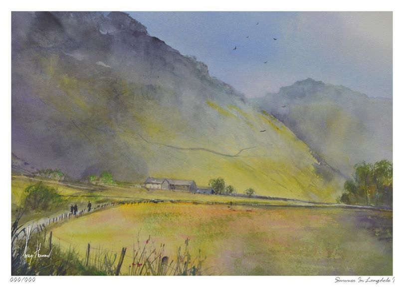 Limited Edition Print Summer In Langdale I