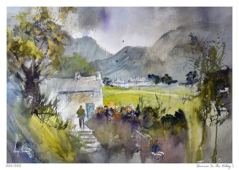 Limited Edition Print Summer In The Valley I