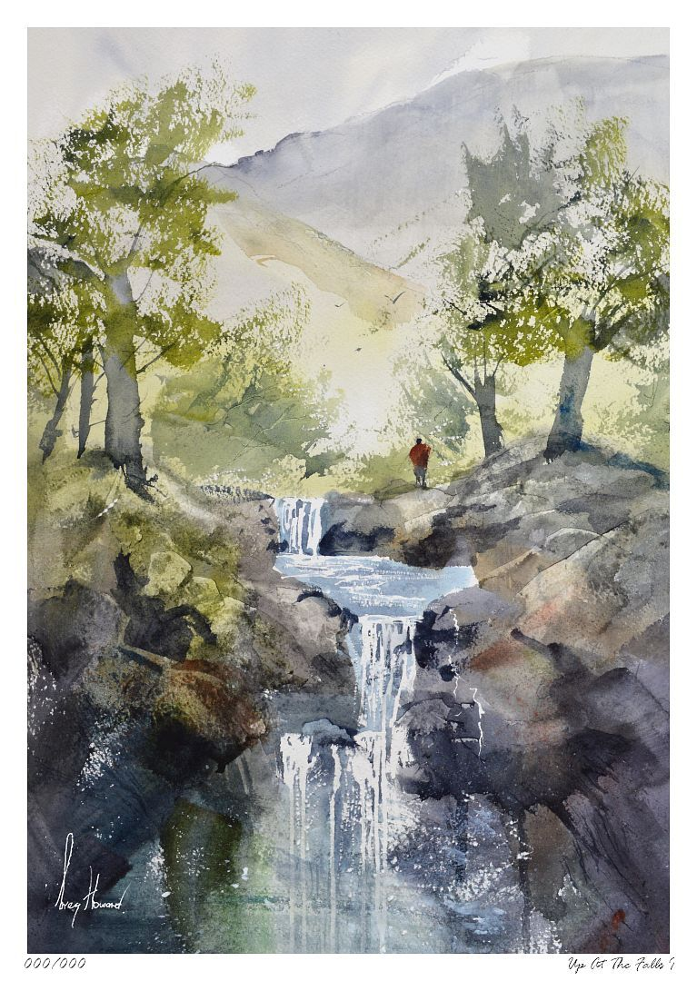 Limited Edition Print Up At The Falls I