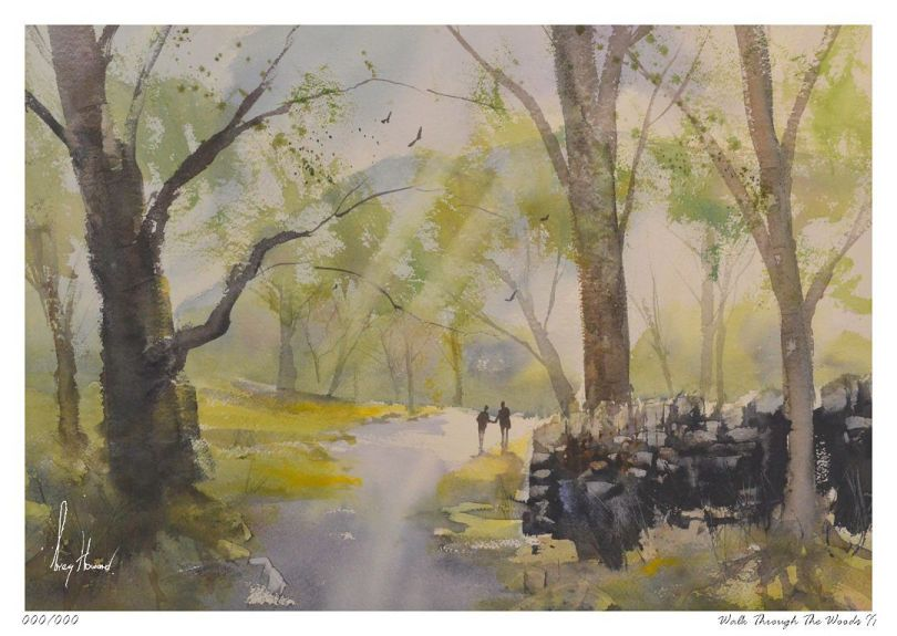 Limited Edition Print Walk Through The Woods II