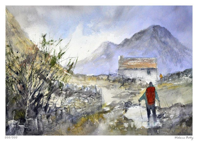Limited Edition Print Welcome Bothy