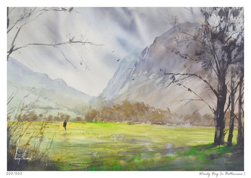 Limited Edition Print Windy Day In Buttermere I