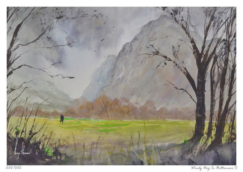 Limited Edition Print Windy Day In Buttermere II