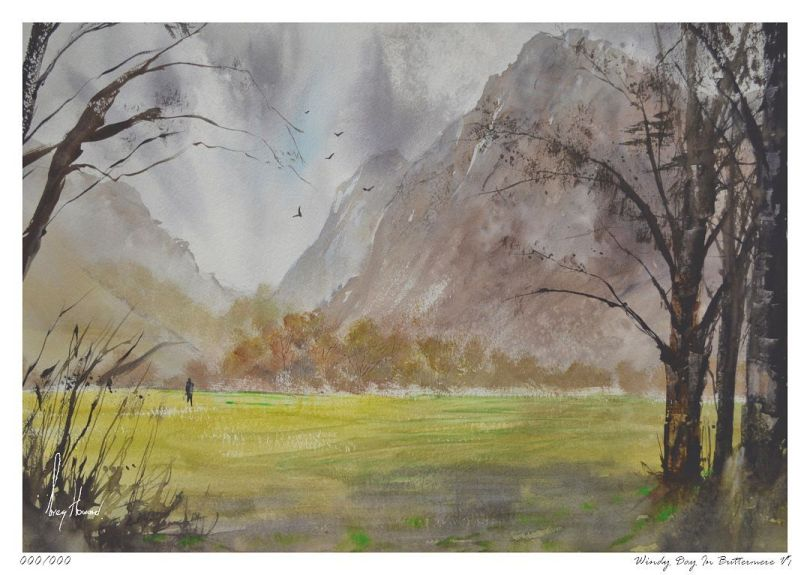 Limited Edition Print Windy Day In Buttermere VI