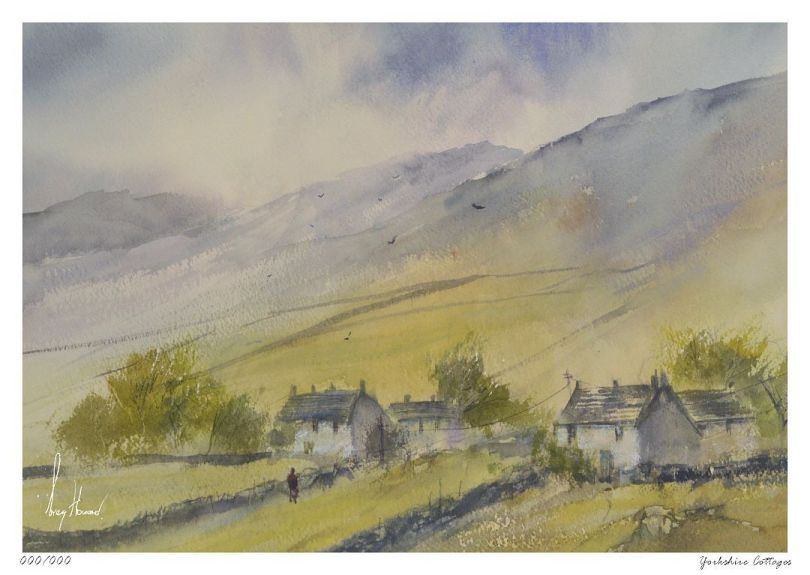 Limited Edition Print Yorkshire Cottages