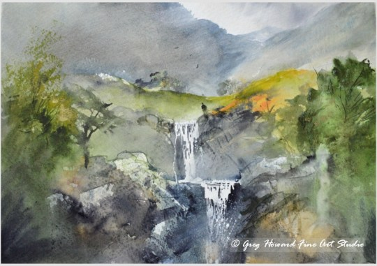 Mountain Ghyll I