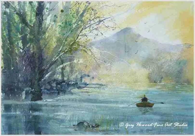 Row On Derwent Water
