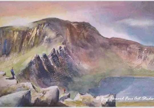 Striding Edge Helvellyn Cumbria