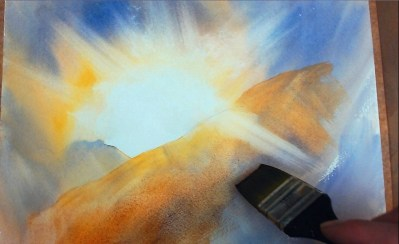 Tuition Learn How To Paint Sunsets In Watercolour