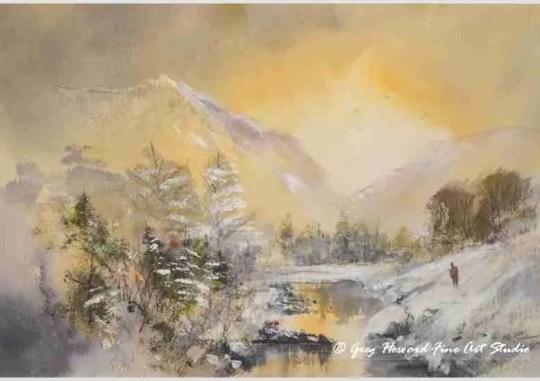 Winter At The Tarn