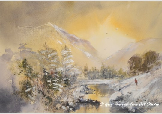 Winter At The Tarn