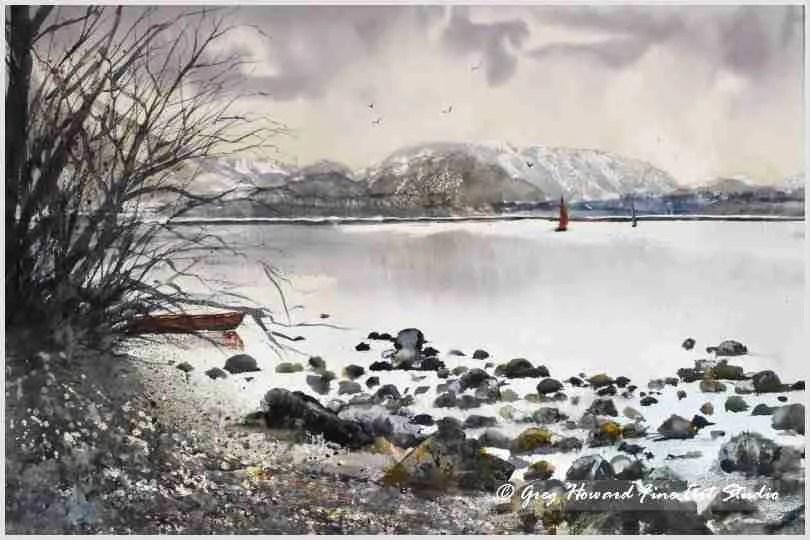 Winter On Ullswater