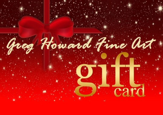 Greg Howard Fine Art Studio Gift Card