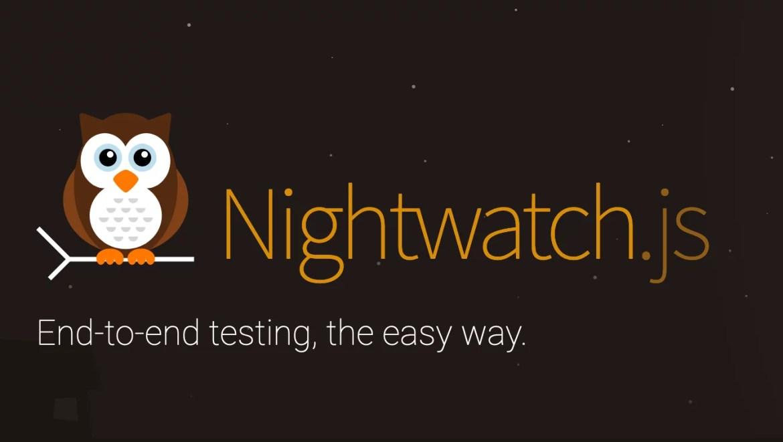 #automatyzacjaNightwatch.js01-Pobranie, instalacja, konfiguracja oraz pierwszy projekt z prostymi przykładami