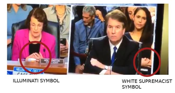 white power symbol, Illuminati symbol