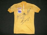 1986 Tour de France signed yellow jersey