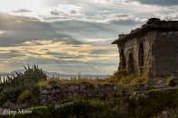 Ancienne base militaire au bout de la Punta Campanella