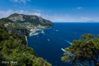 La baie de la Marina Grande à Capri
