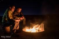 Les Redrocks camping et feu de camp sous les étoiles