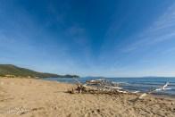 La plage sauvage de la Marina di Alberese