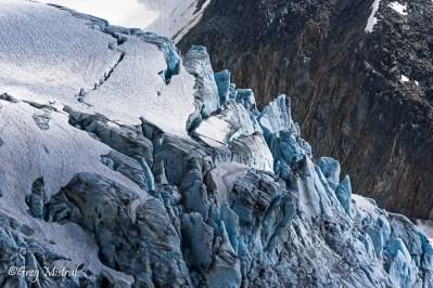 Les cerbères du glacier du Tour.