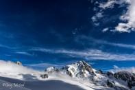 Le ciel était peint d'un bleu incroyable ce jour la.