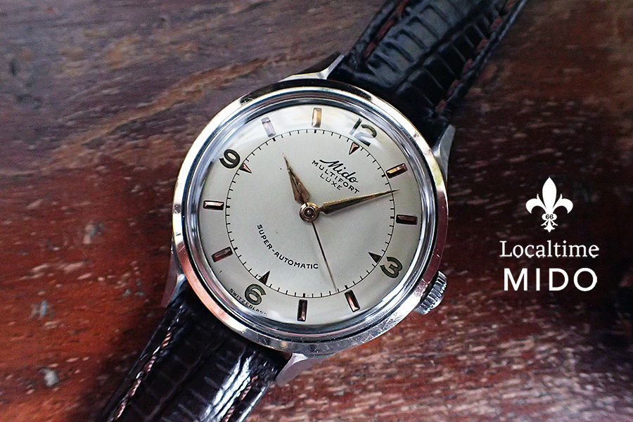 Lovely 1940's MIDO (Swiss) Multifort Luxe Bumper Super Automatic – 17j Mido Cal. 0917