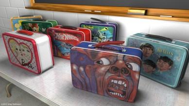 21st Century Schizoid Lunchbox