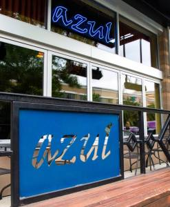 Azul restaurant front