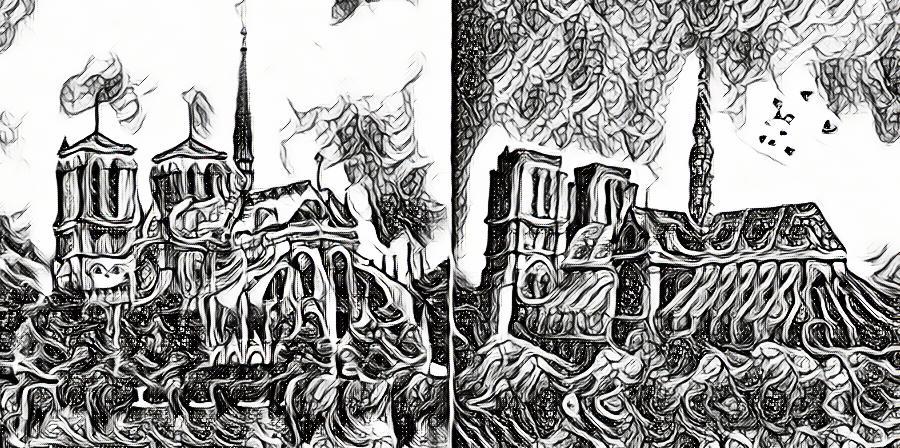 notre-dame-reconstruction-renovation-fleche-moderne-modernite-constervatisme-restauration