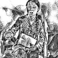 Ce que Greta Thunberg exige pour le climat, le coronavirus le provoque
