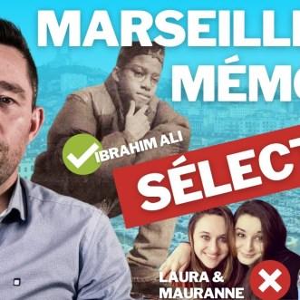 Marseille, la mémoire sélective