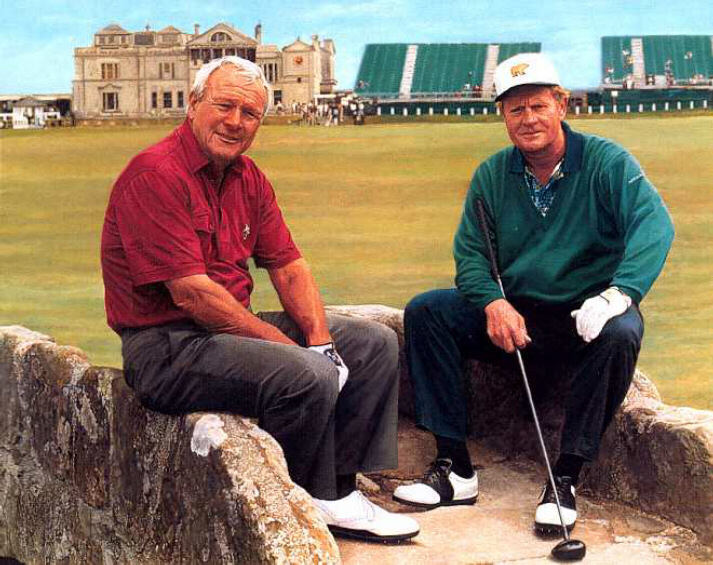 Image result for st andrews jack nicklaus arnold