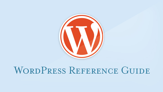 WordPress V.4 Reference Guide