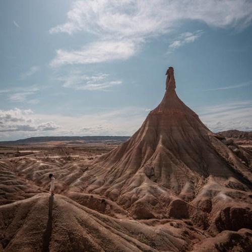 La cheminée des Bardenas Espagne