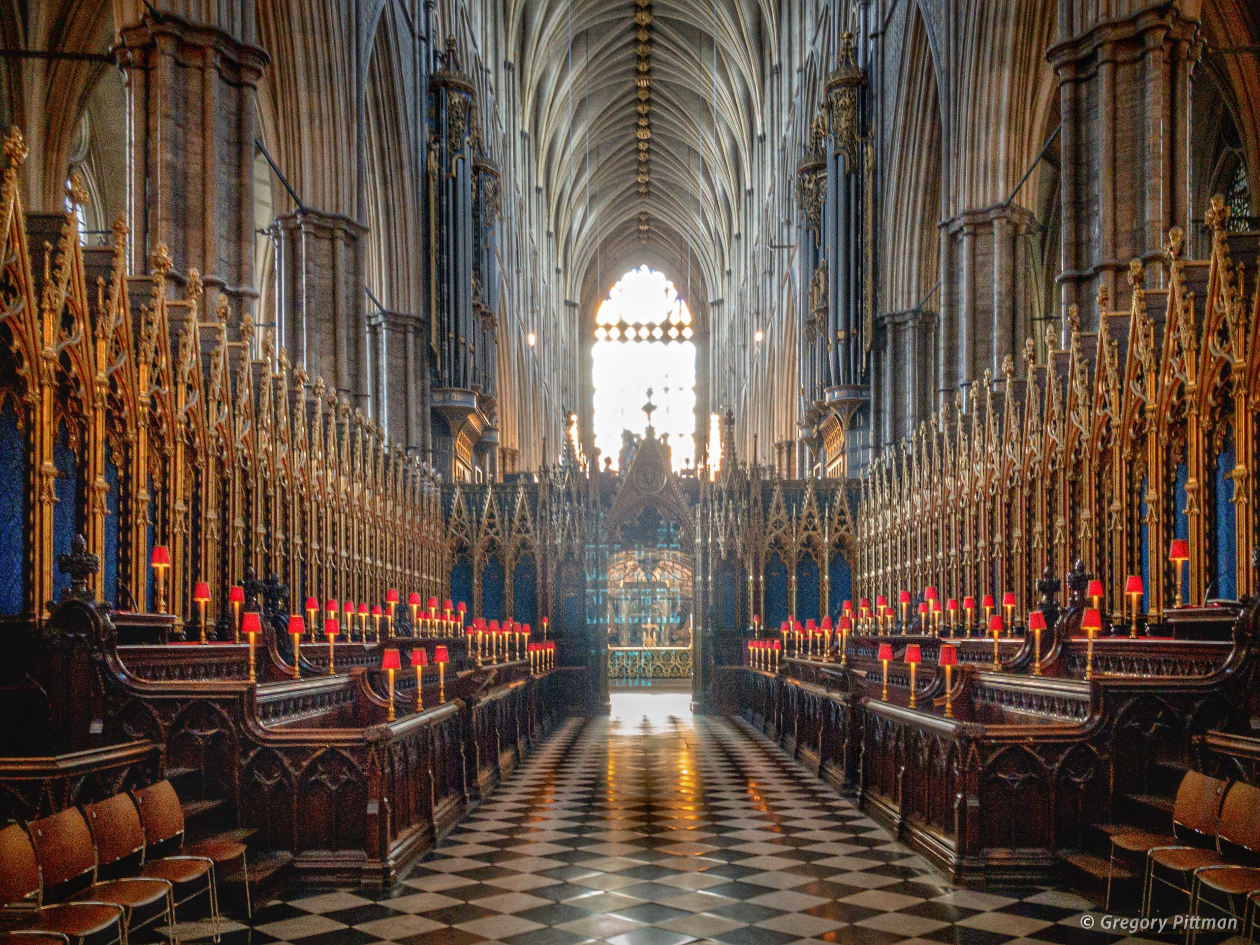 The Quire, Westminster Abbey, London, England