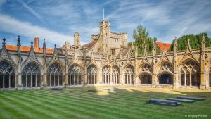 The Cloisters at Canterbury Cathedral