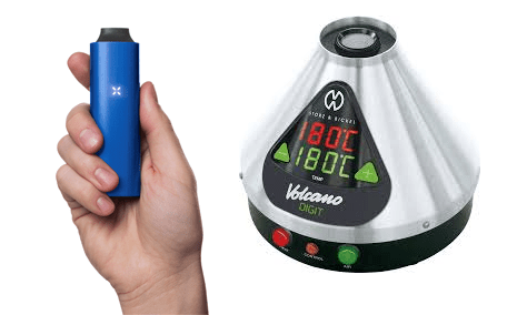 portable and desktop vaporizer for asthma