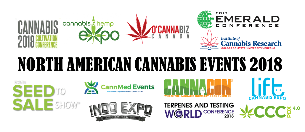 North American Cannabis Events 2018