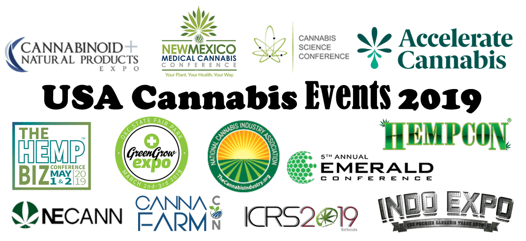 USA Cannabis Events 2019