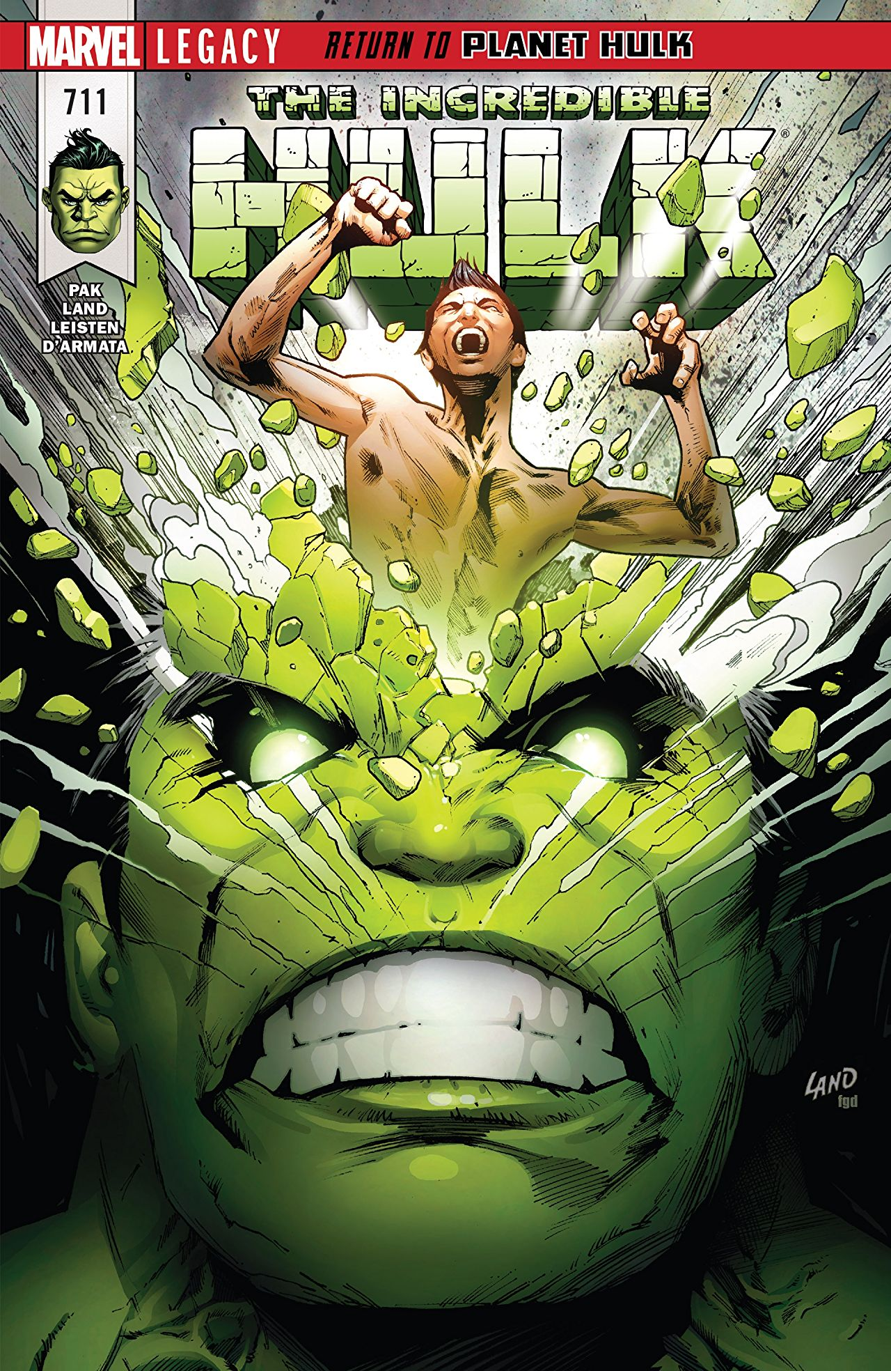 2017.12.20 – INCREDIBLE HULK #711 in stores today!